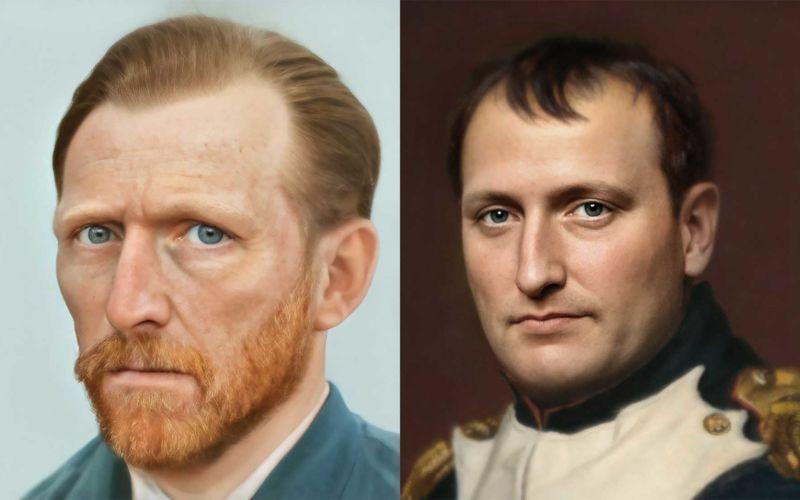 Wie historische Figuren in Realität ausgesehen haben könnten