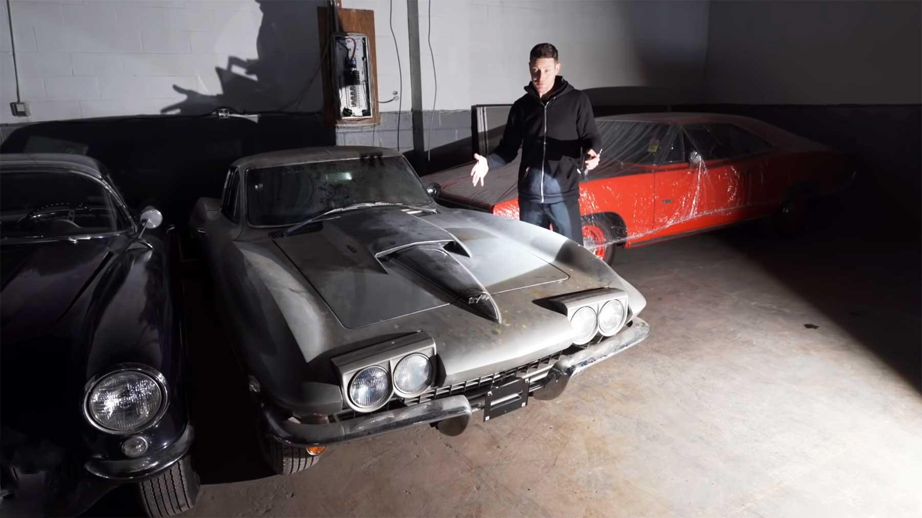 1967er Chevrolet Corvette Stingray wird nach 33 Jahren erstmals wieder gewaschen