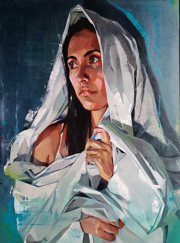 Malereien von Kseniya Galper