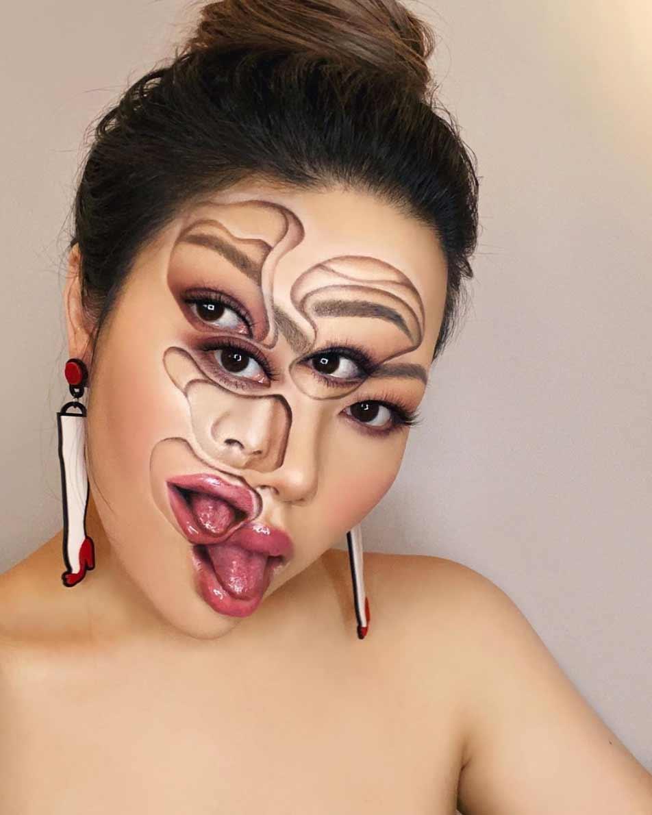 Neue Make-up-Illusionen von Mimi Choi Mimi-Choi-2020_05