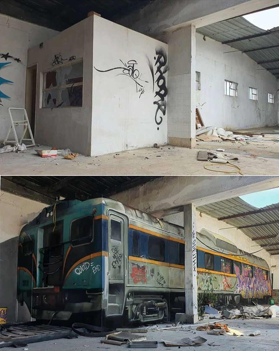 Neue 3D-Graffiti-Transformation von Odeith Odeith-train-box-transformation_02
