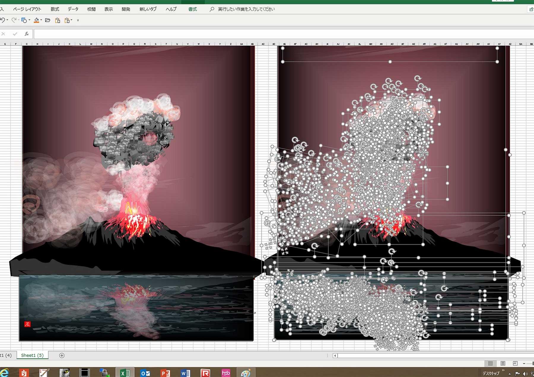 80-jähriger Tatsuo Horiuchi malt Bilder in Excel Tatsuo-Horiuchi-malen-in-excel_01