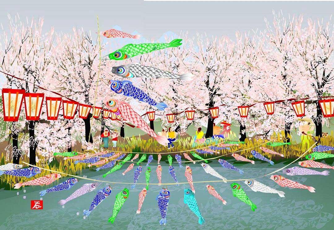 80-jähriger Tatsuo Horiuchi malt Bilder in Excel Tatsuo-Horiuchi-malen-in-excel_07