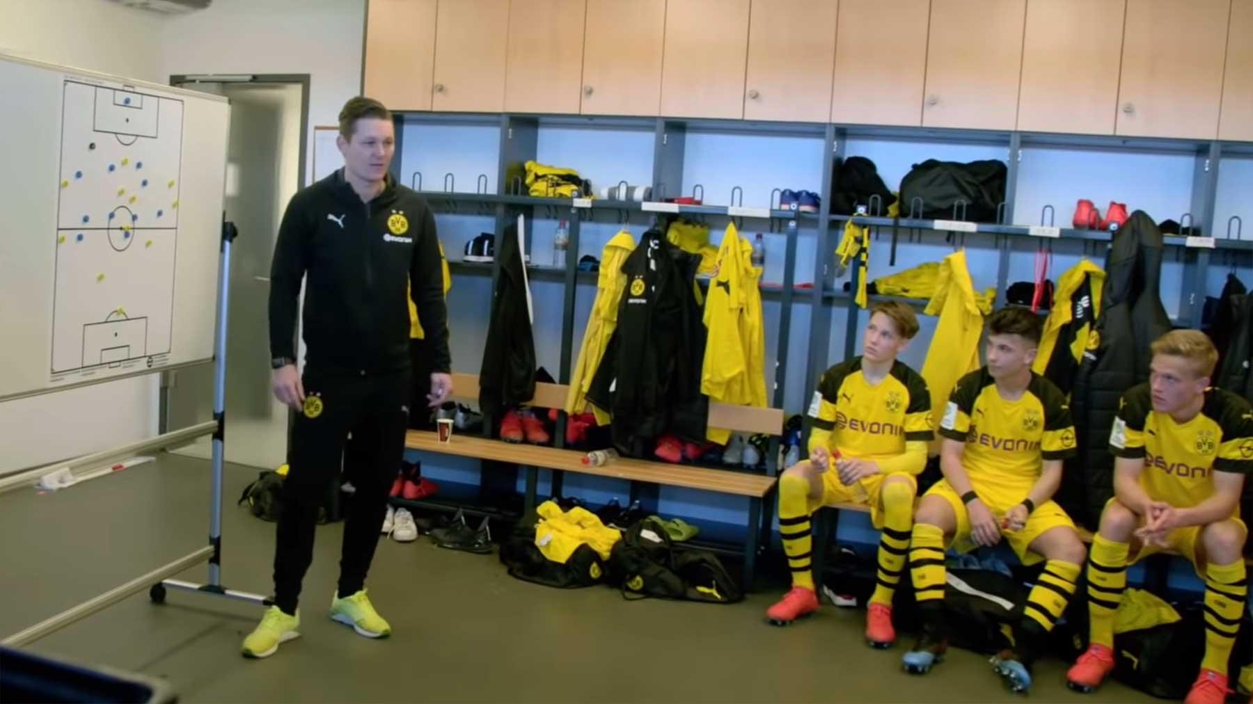 """Doku-Reihe """"Dreamchasers"""" schenkt Einblicke in die BVB-Jugend"""