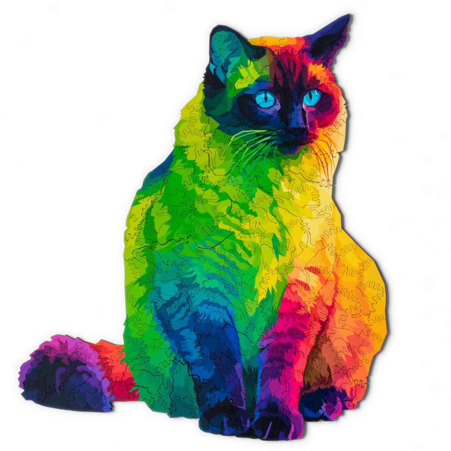Puzzle aus vielen kleinen Katzenstücken ergibt eine große Katze herding-cats-puzzle_02