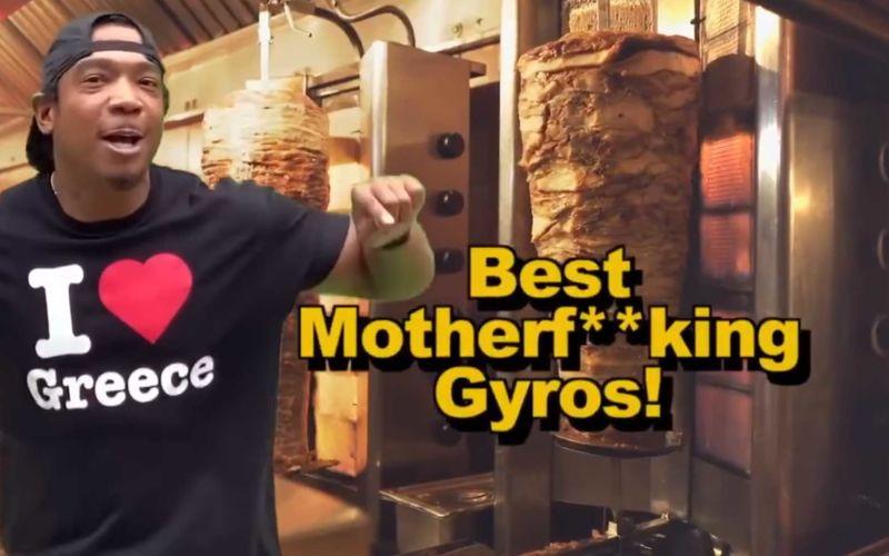 """Ja Rules Werbung für das griechische Restaurant """"Papa Cristo"""""""