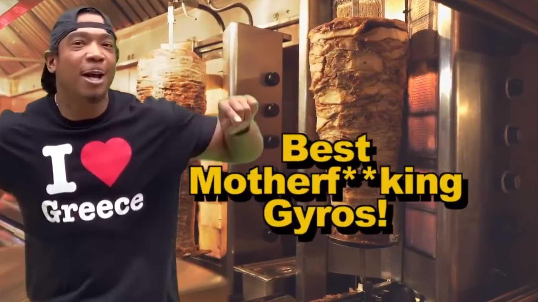"""Ja Rules Werbung für das griechische Restaurant """"Papa Cristo"""" ja-rule-werbung-grieche"""