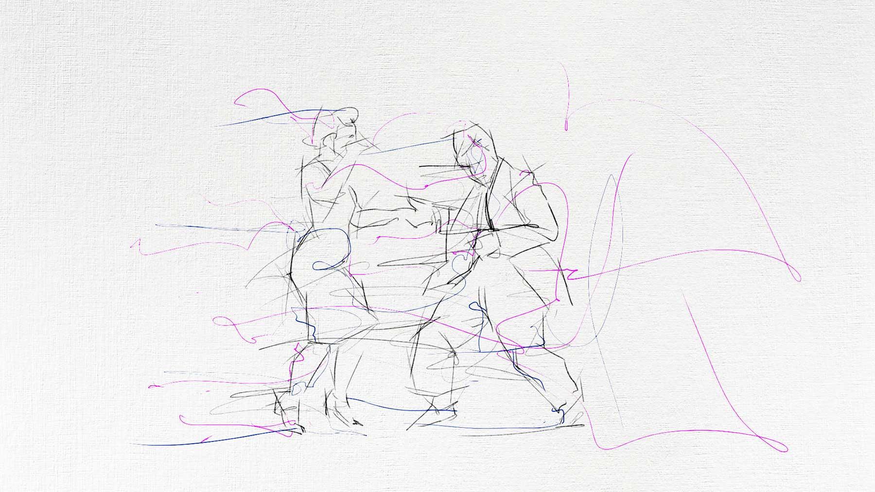 """Gezeichnete Tanz-Animation: """"Still Life"""""""