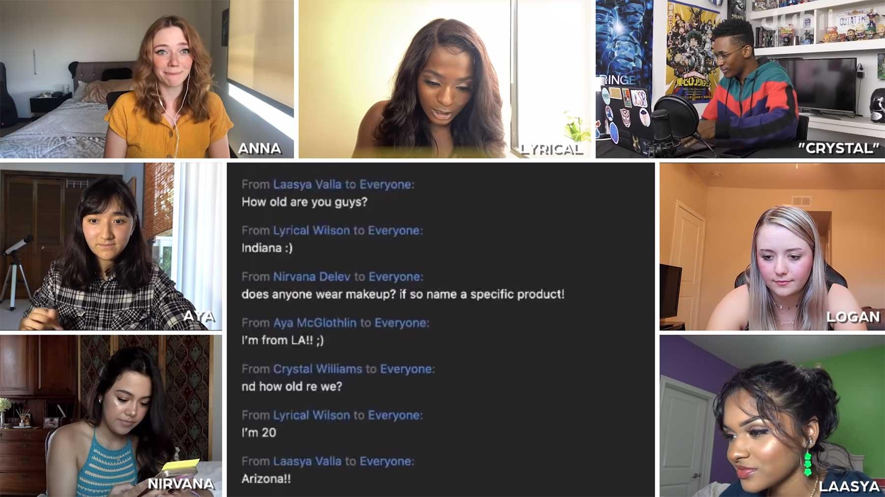 Wer ist der heimliche Mann im Frauen-Chat?