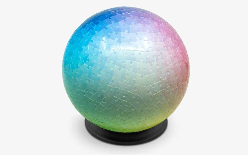 Farbverlauf-3D-Kugel-Puzzle von Clemens Habicht
