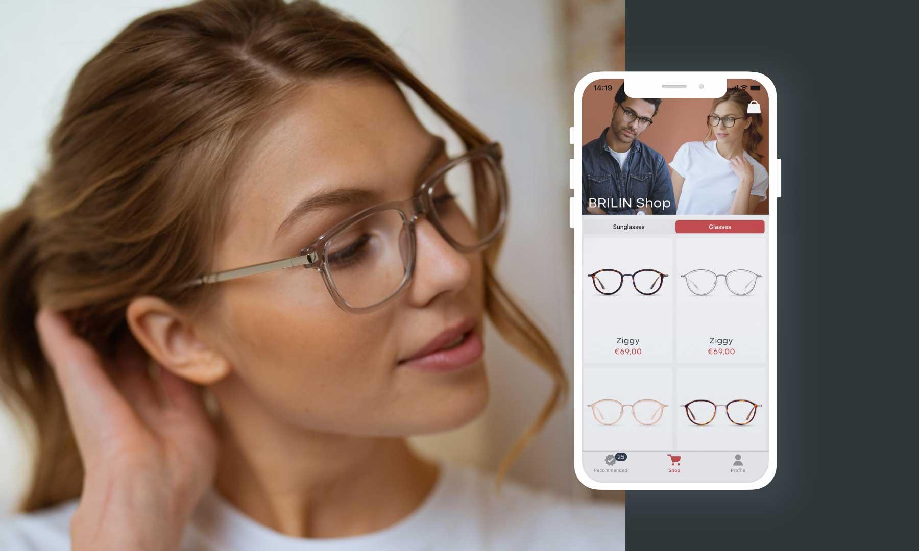 BRILIN lässt euch neue Brillen-Modelle per Instagram-Filter oder App anprobieren