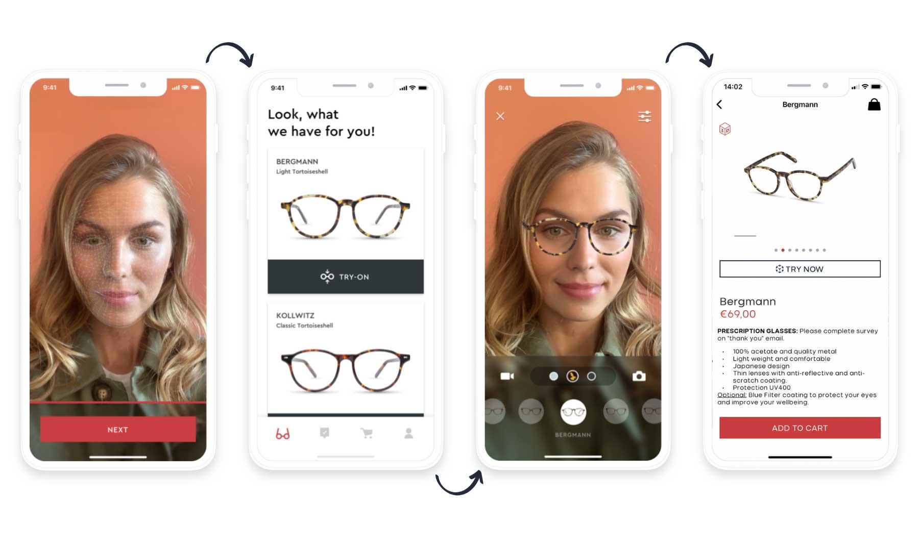 BRILIN lässt euch neue Brillen-Modelle per Instagram-Filter oder App anprobieren BRILIN-Brillenmodelle-virtuell-anprobieren_02