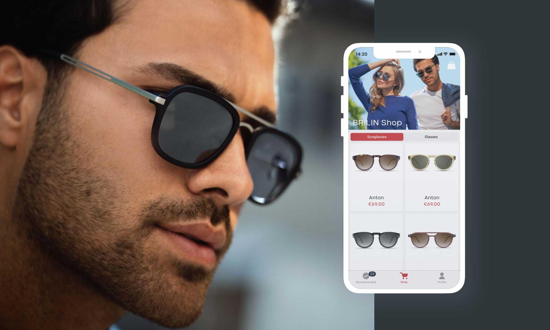 BRILIN lässt euch neue Brillen-Modelle per Instagram-Filter oder App anprobieren BRILIN-Brillenmodelle-virtuell-anprobieren_03