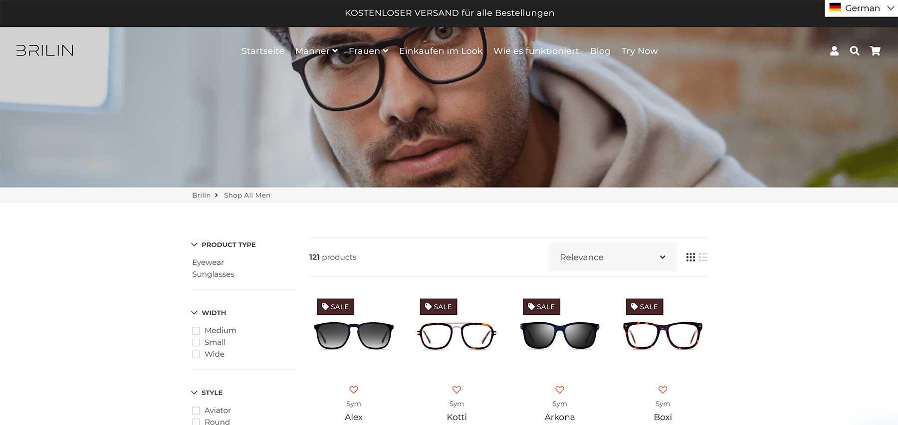 BRILIN lässt euch neue Brillen-Modelle per Instagram-Filter oder App anprobieren BRILIN-Brillenmodelle-virtuell-anprobieren_04
