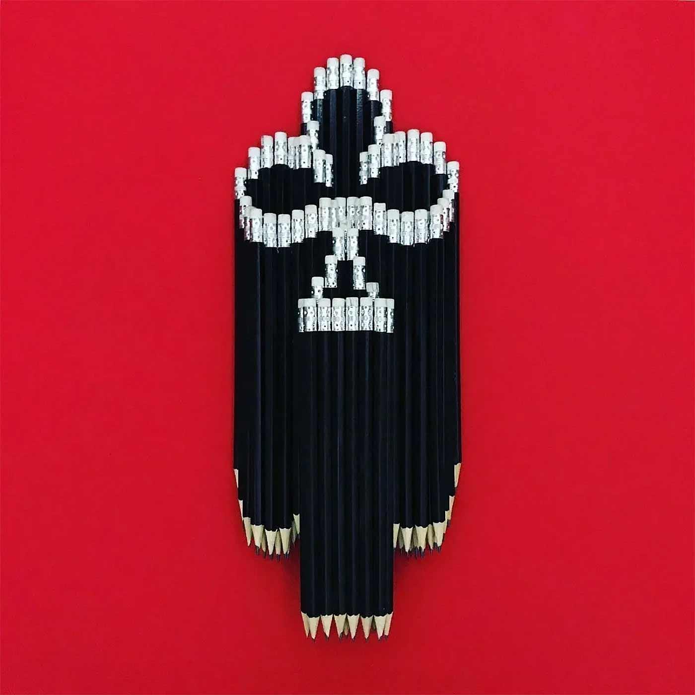 Bleistift-Mosaike von Bashir Sultani Bashir-Sultani-bleistiftkunst_07