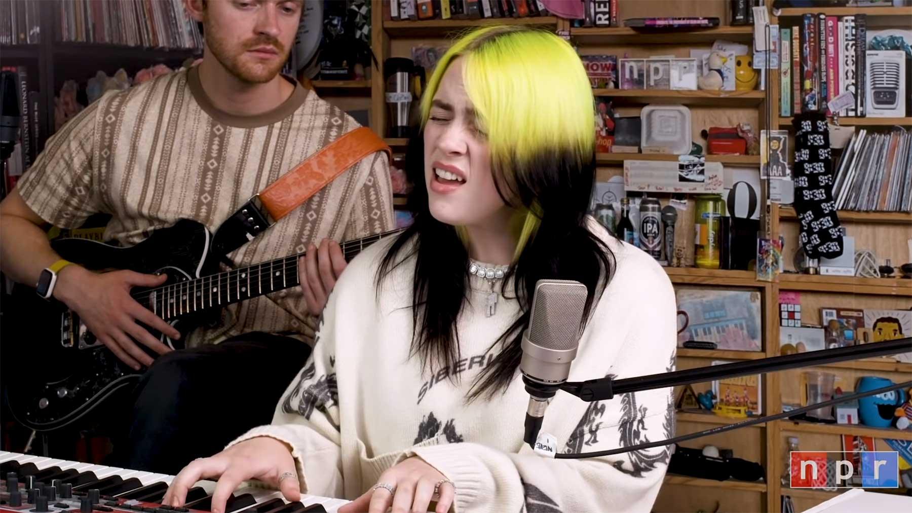 Tiny Desk (Home) Concert: Billie Eilish
