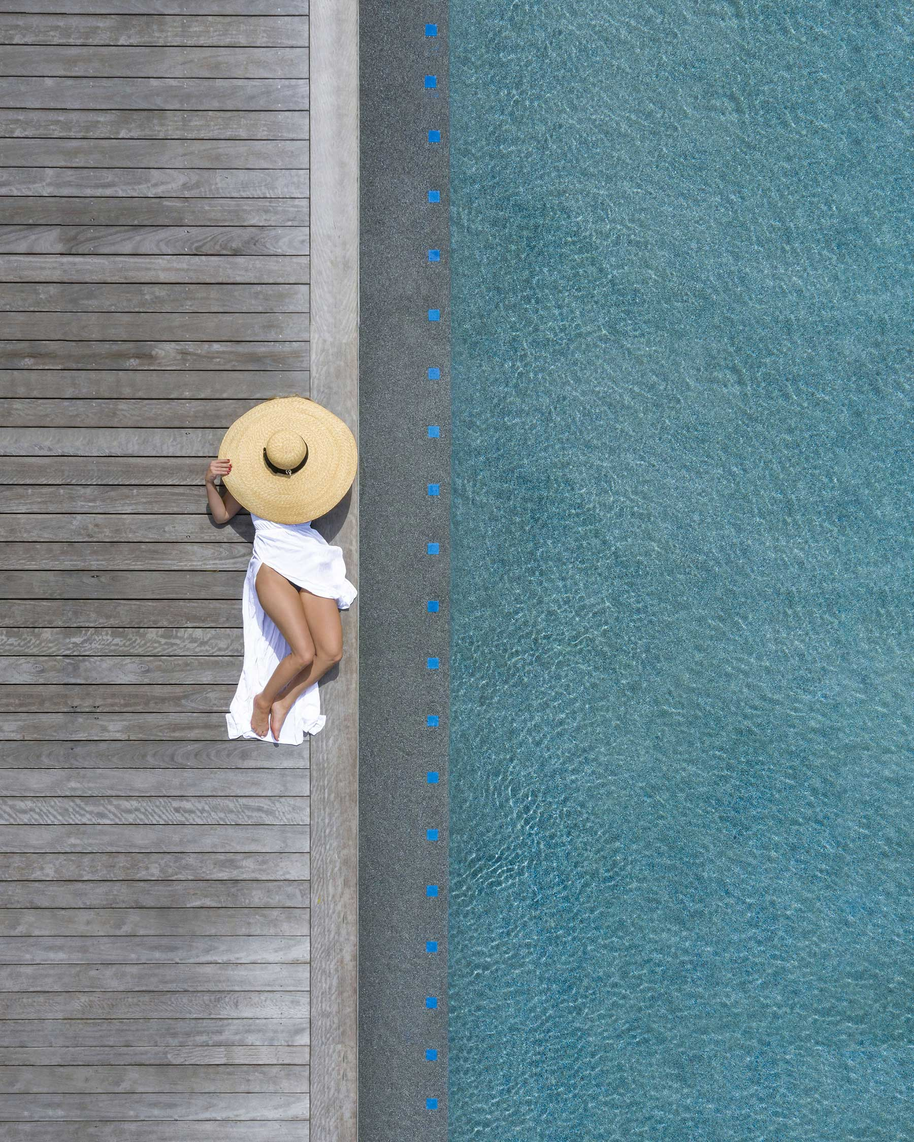 Brad Walls zeigt uns die Schönheit von Schwimmbecken