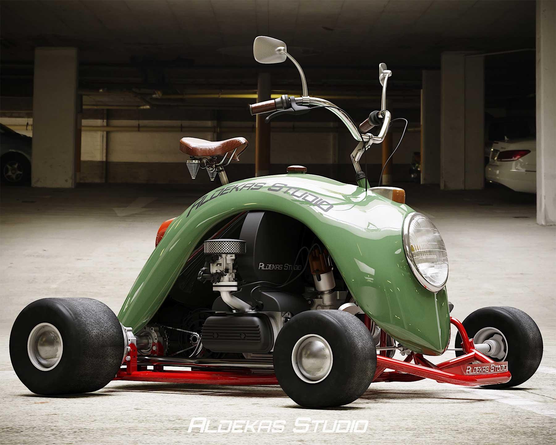 Go-Kart aus dem Kotflügel eines VW Käfers Bugkart-Wasowski-vw-beetle-kart_03