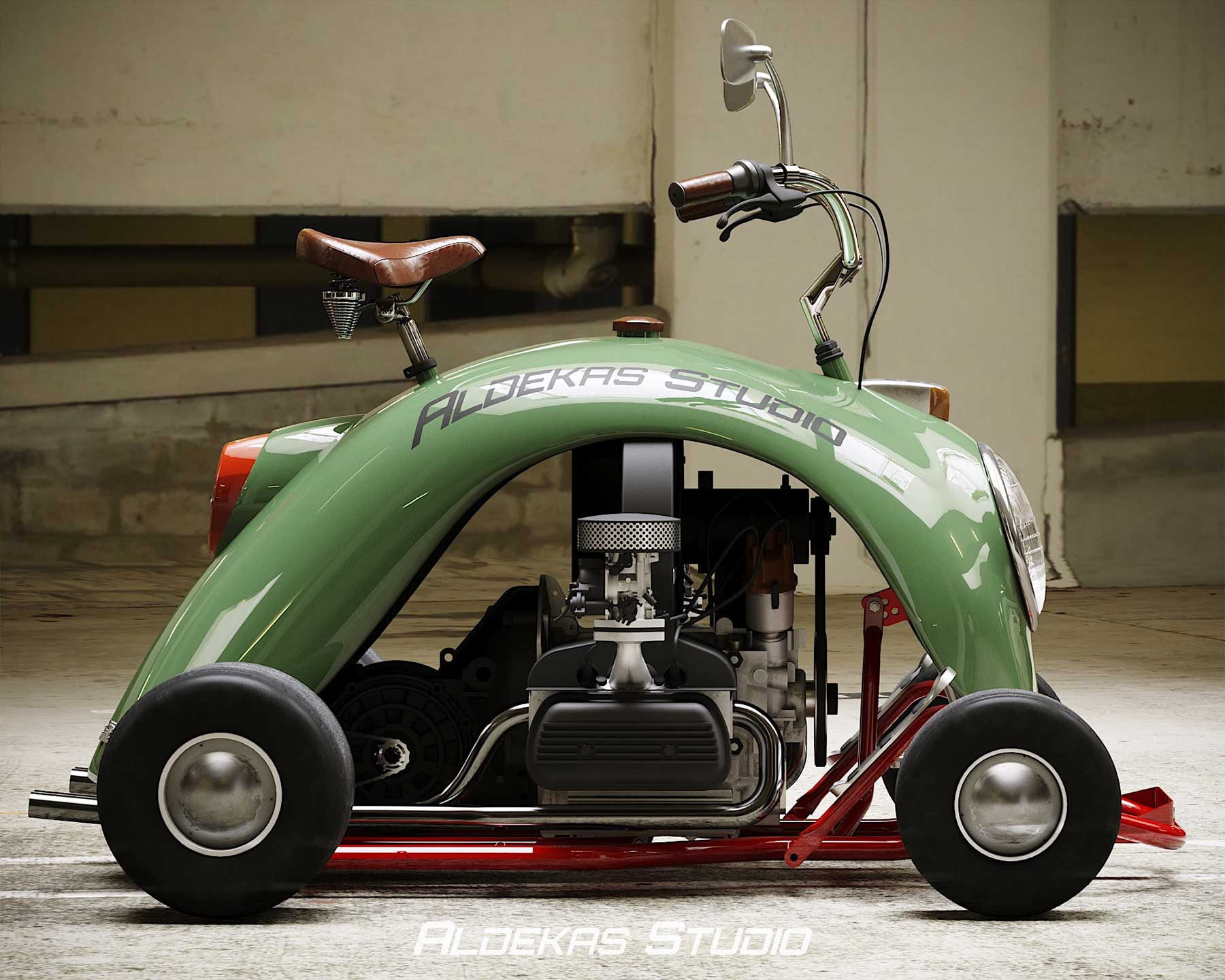 Go-Kart aus dem Kotflügel eines VW Käfers Bugkart-Wasowski-vw-beetle-kart_04