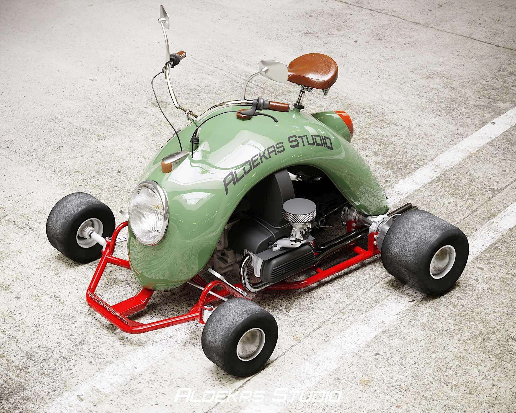 Go-Kart aus dem Kotflügel eines VW Käfers Bugkart-Wasowski-vw-beetle-kart_06