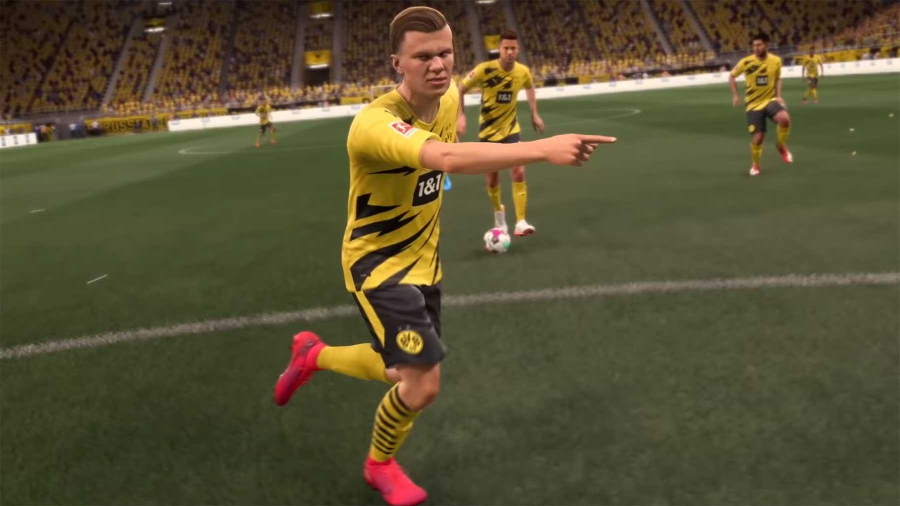 """Offizieller Gameplay-Trailer für """"Fifa 21"""""""