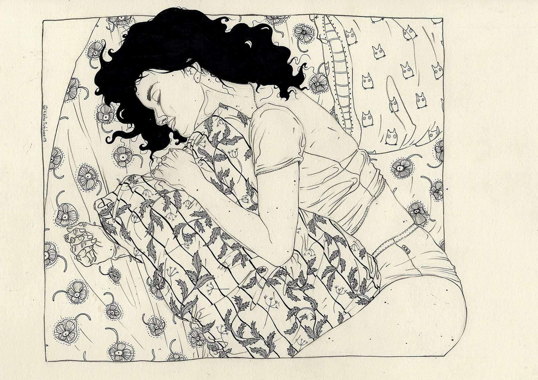 Zeichnungen von Käthe Butcher