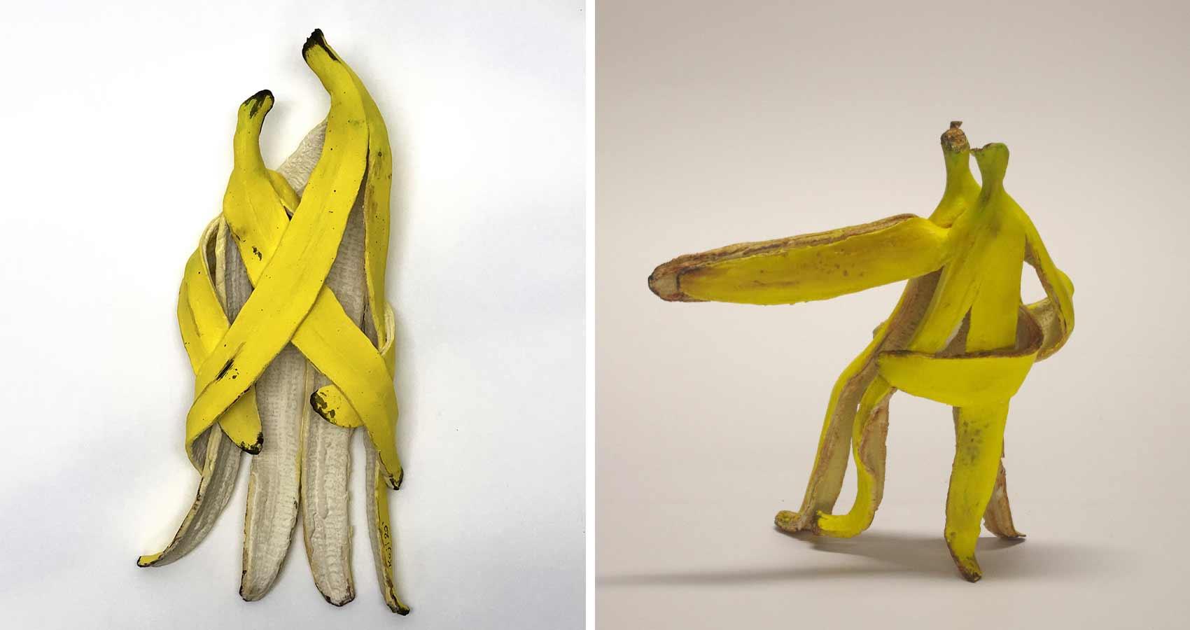 Bananen-Skulpturen von Koji Kasatani Koji-Kasatani-bananenskulpturen_05