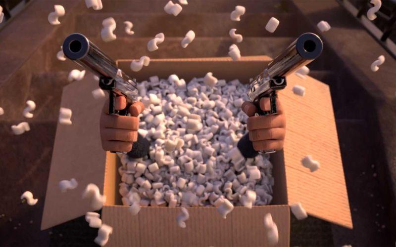 "Animierter Kurzfilm: ""The Box Assassin"""