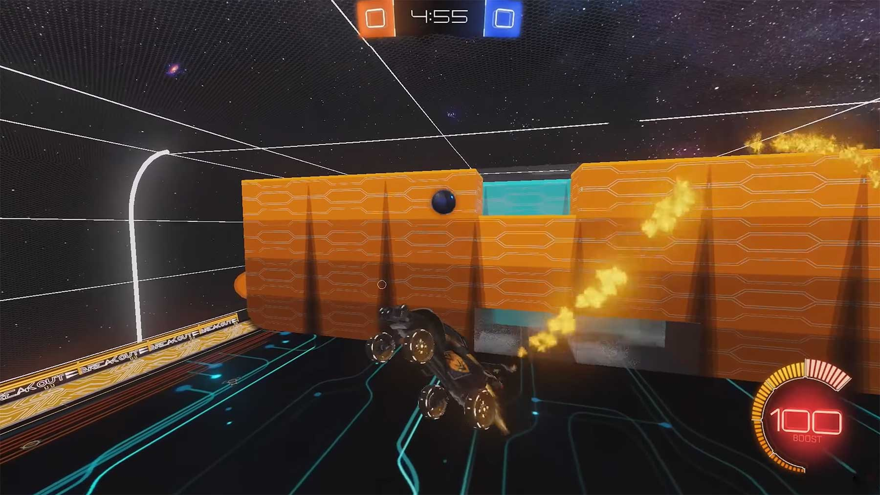 """Breakout"" in ""Rocket League"" spielen"