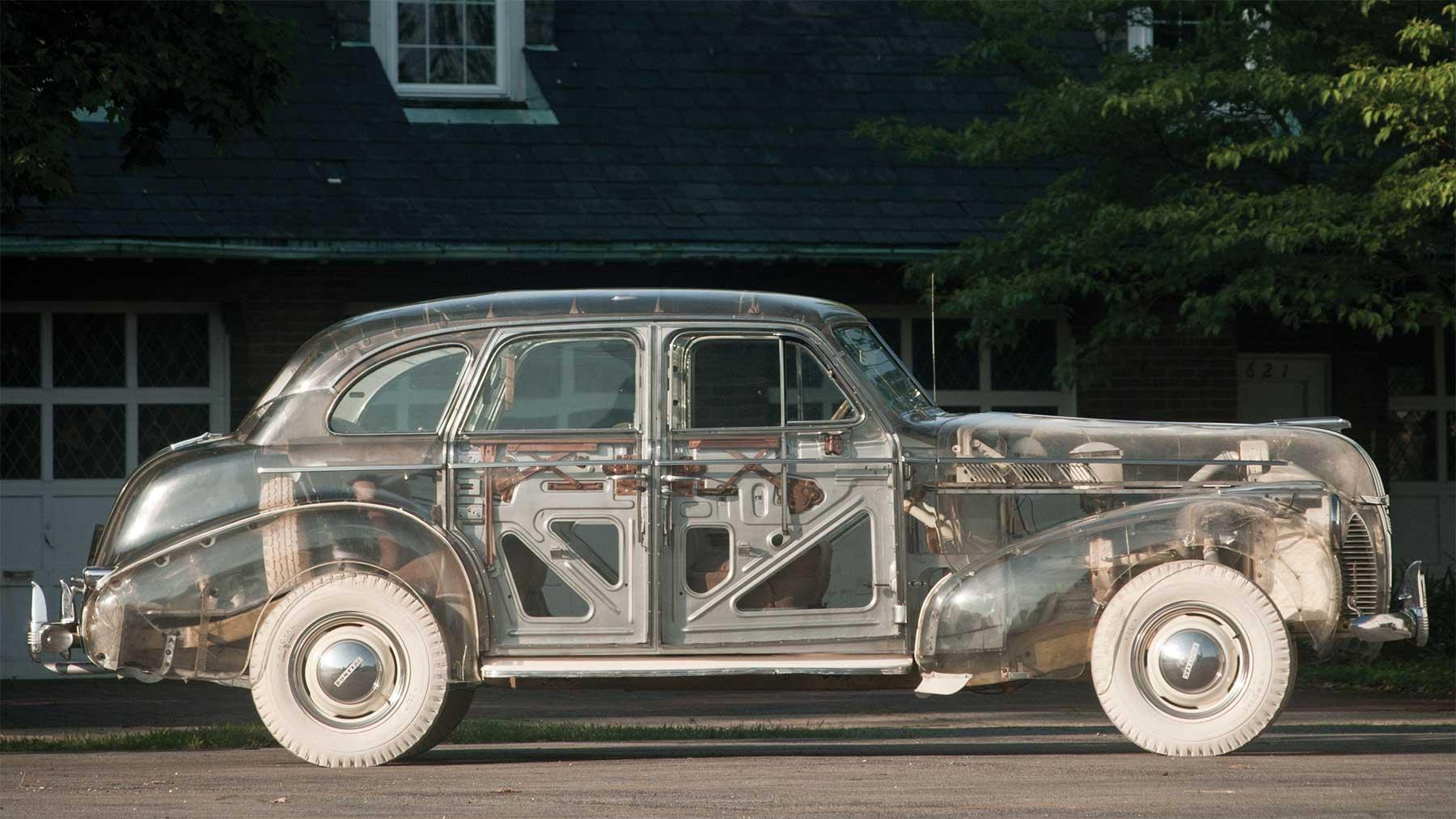 Das erste durchsichtige Auto der Welt