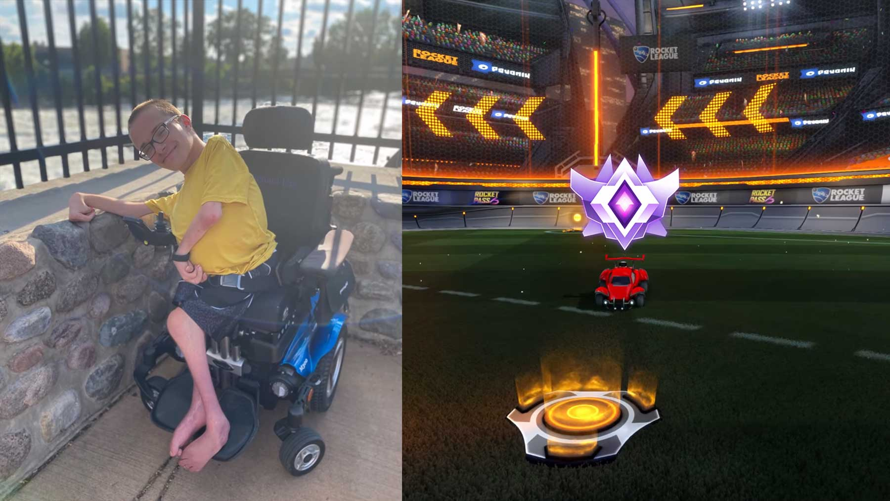 "Gelenksteifer Grand Champ in ""Rocket League"""