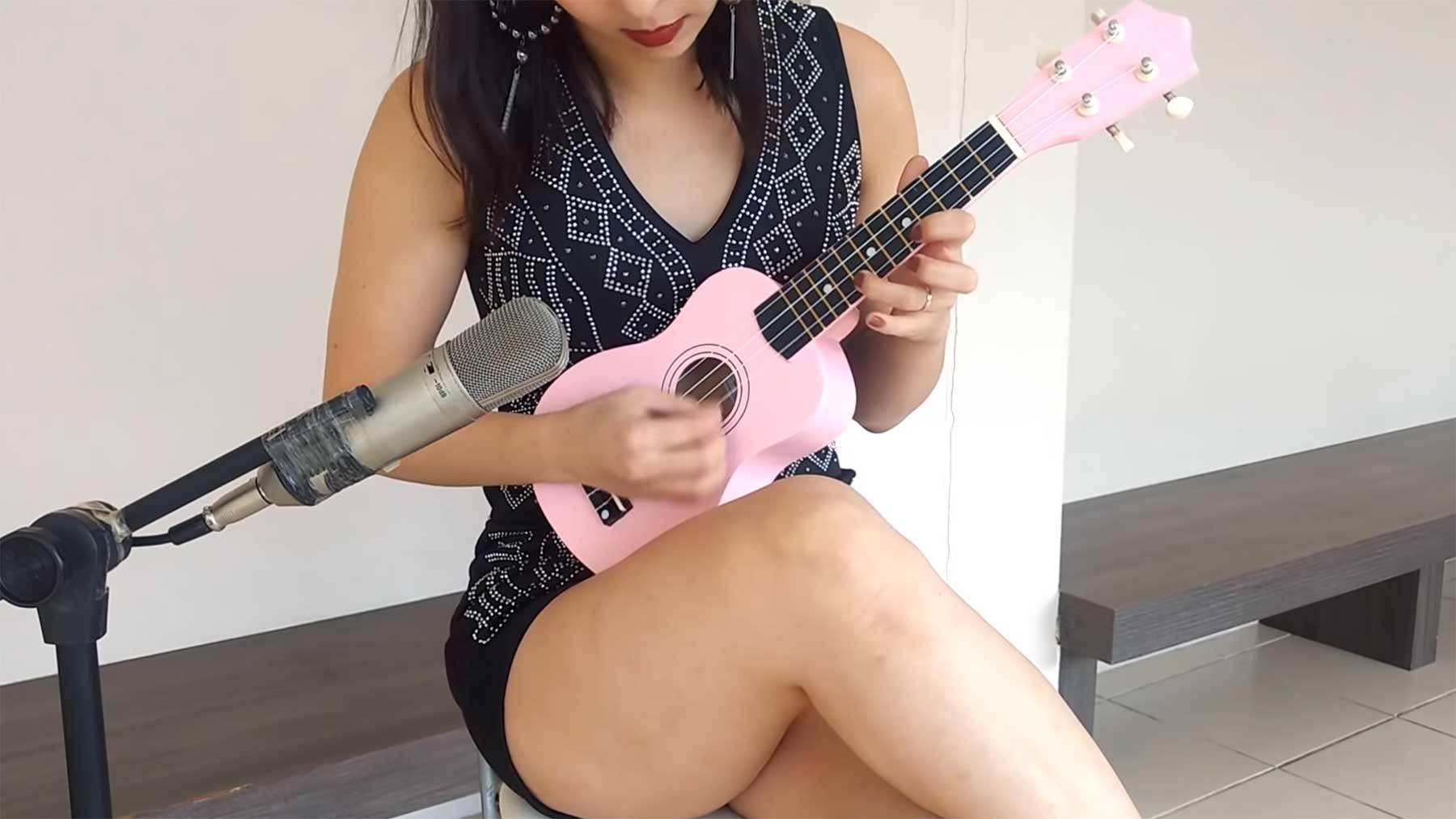 Ukulele-Cover bekannter Rocksongs