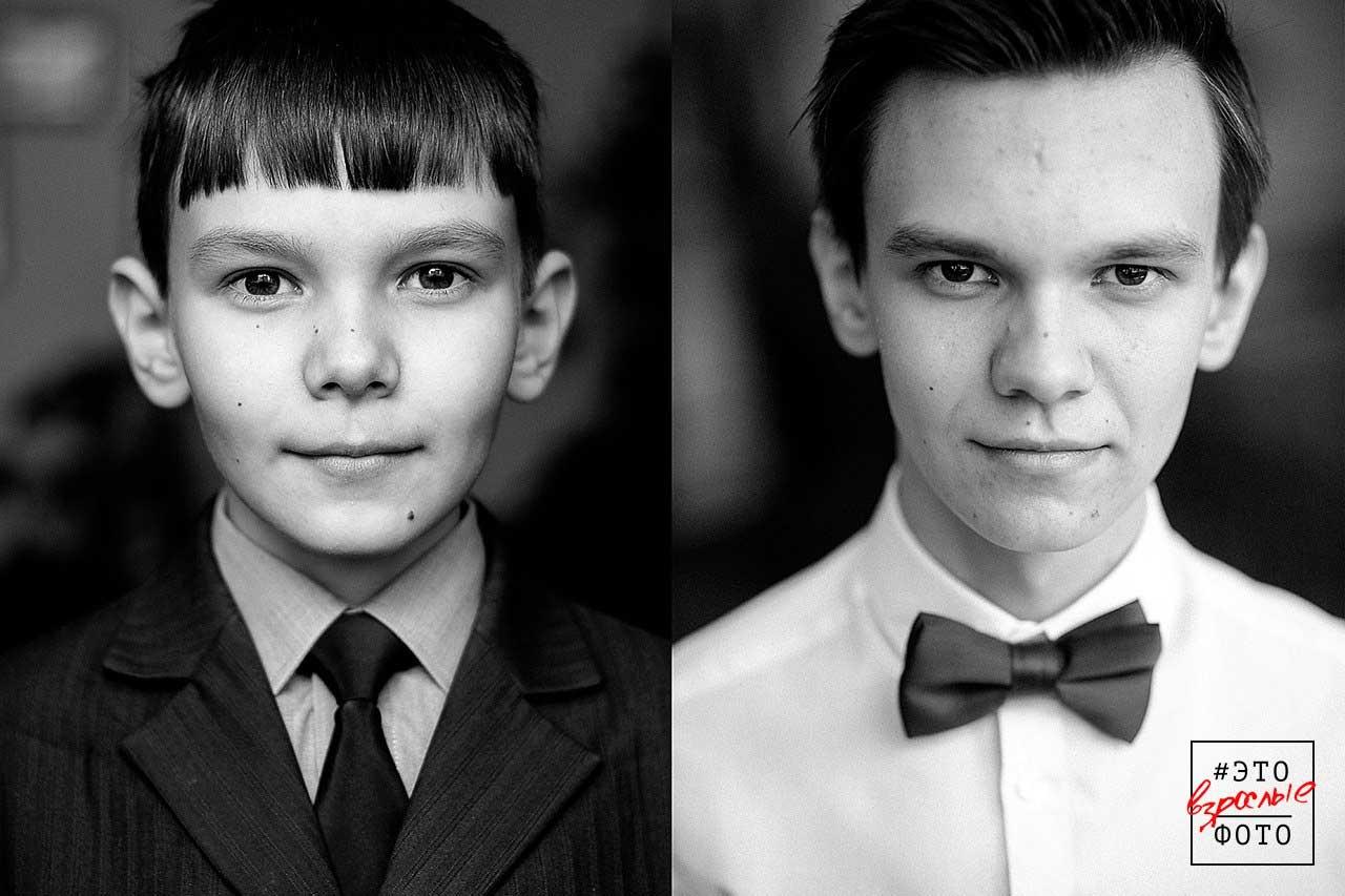 6,5 Jahre Älterwerden in zwei Portraits sechseinhalb-jahre-zwischen-portraits-Nikita-Khnyunin_02