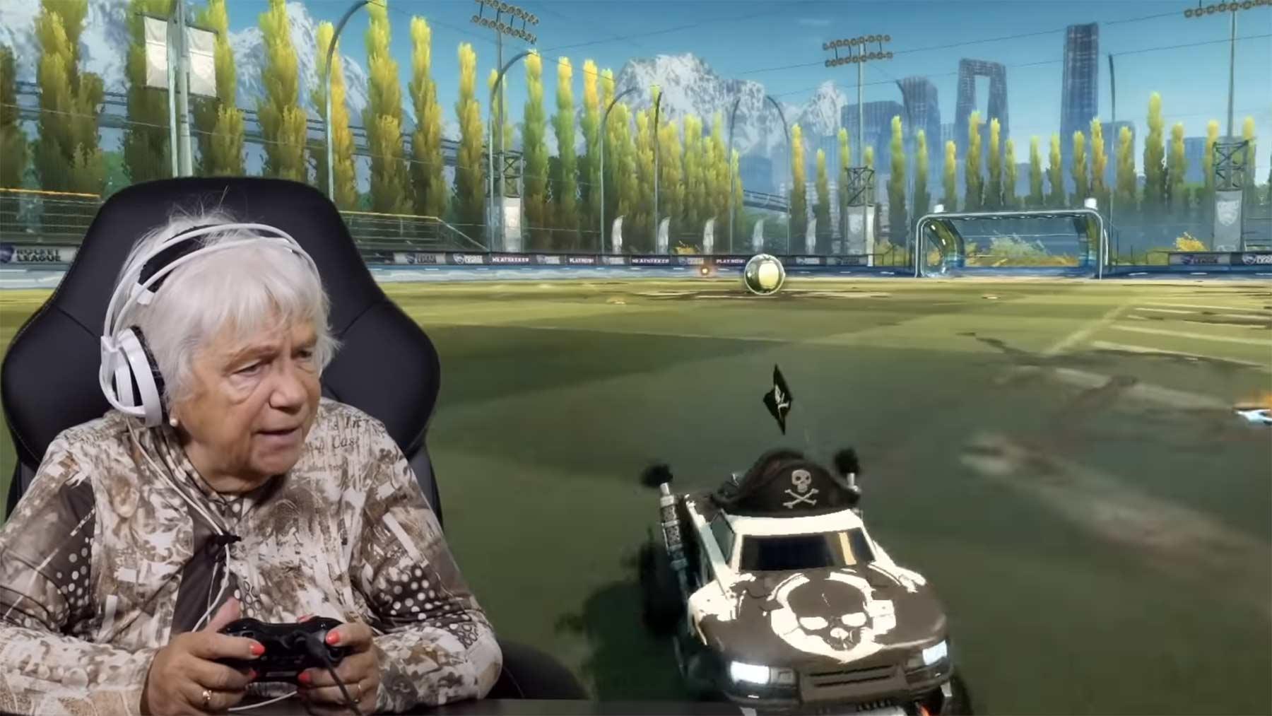 """Senioren spielen """"Rocket League"""""""