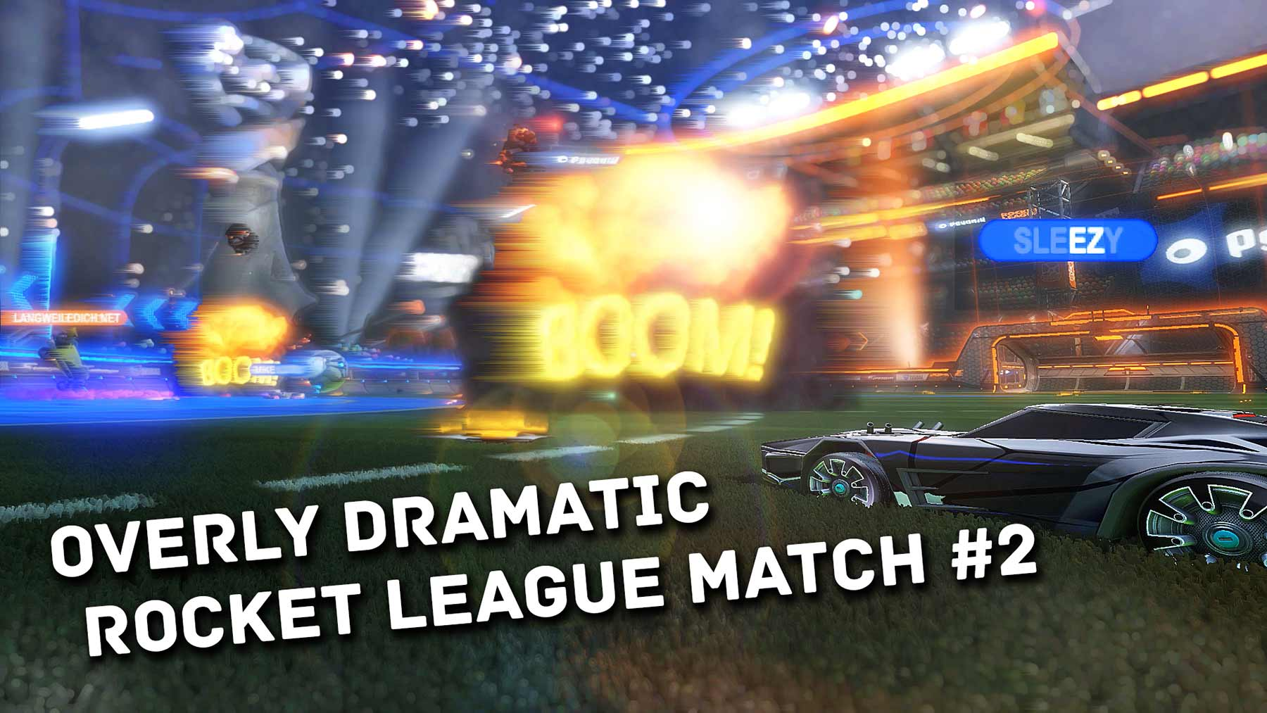 Overly Dramatic Rocket League Match #2