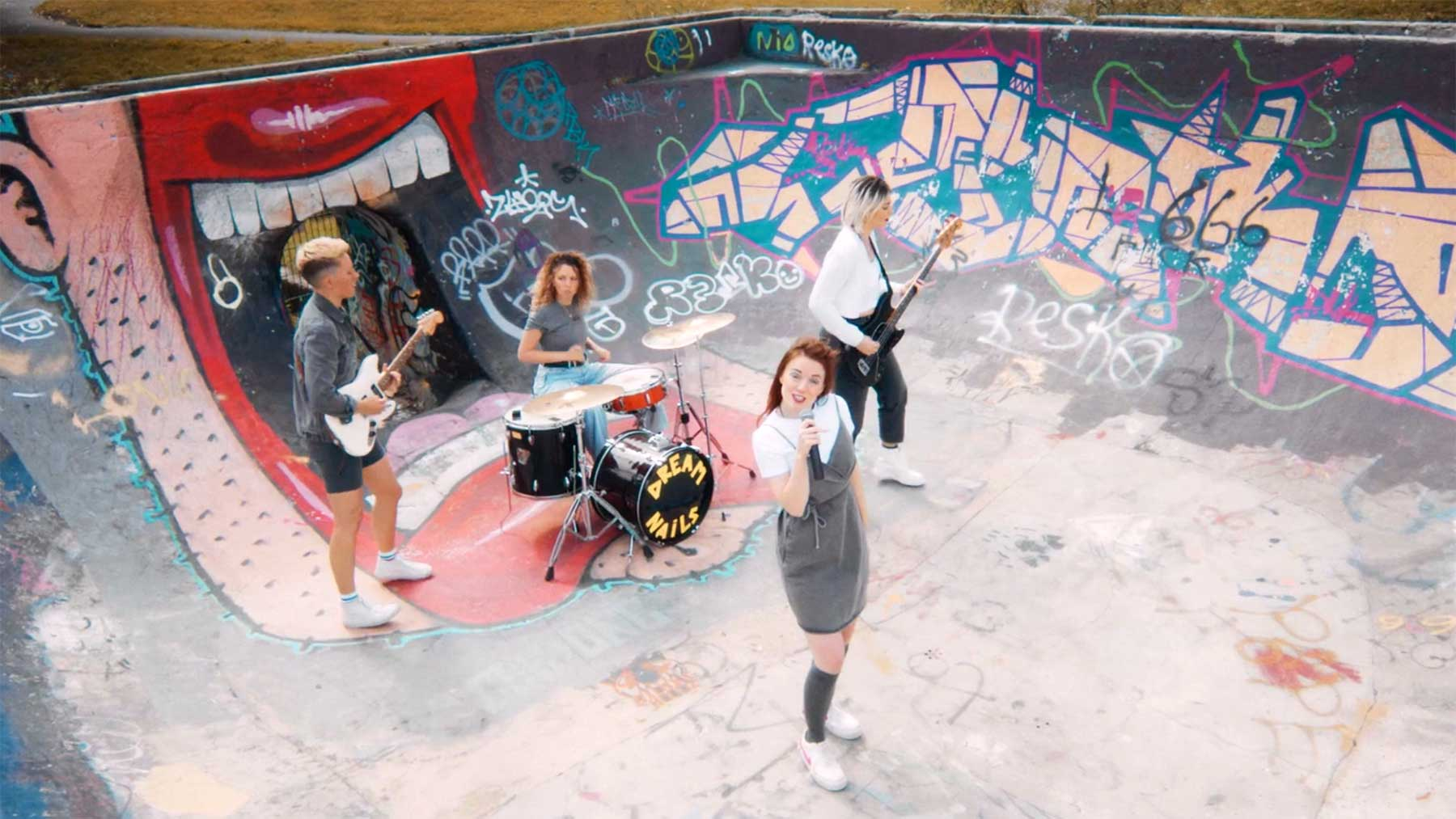 "Musikvideo: Dream Nails - ""Kiss My Fist"" Dream-Nails-Kiss-My-Fist-Musikvideo"