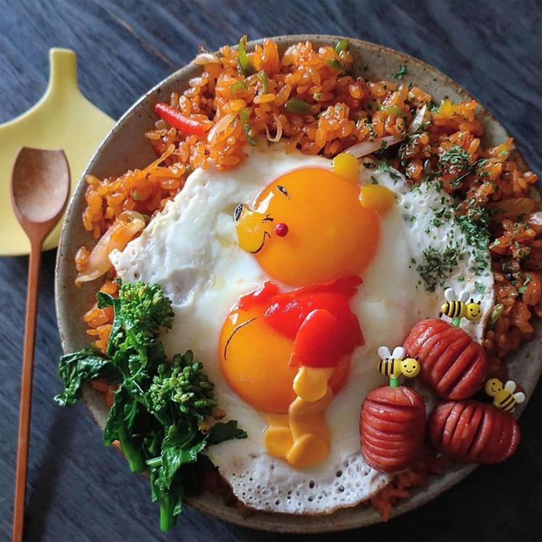 Kleine Lebensmittelkunstwerke von Etoni Mama Etoni-Mama-foodkunst_01