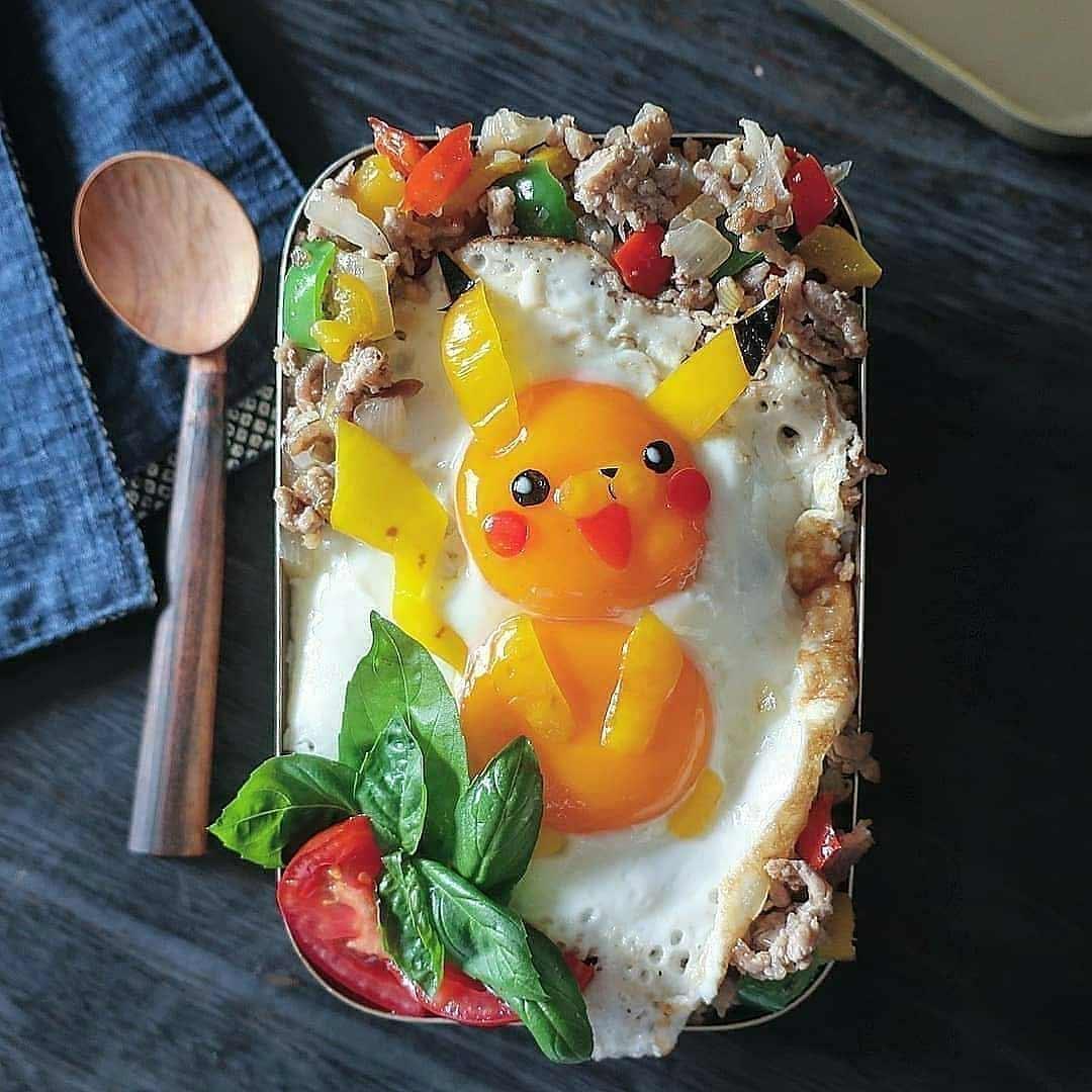 Kleine Lebensmittelkunstwerke von Etoni Mama Etoni-Mama-foodkunst_04