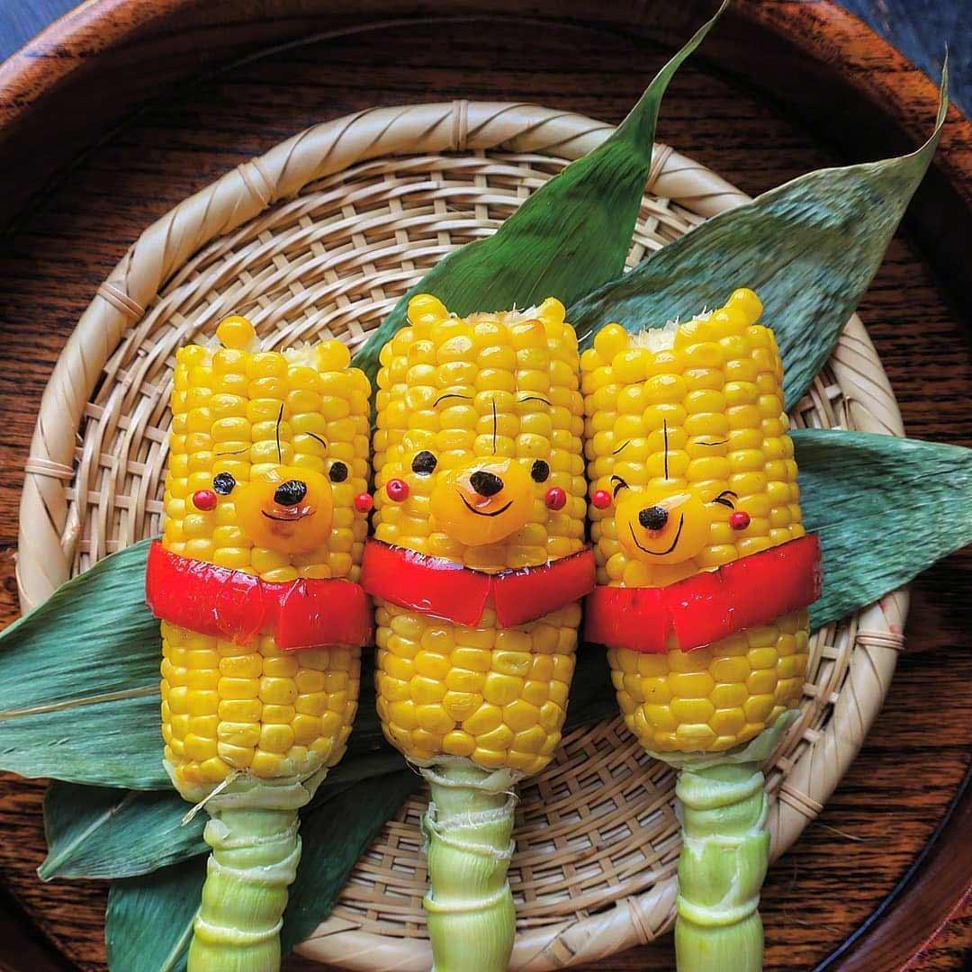 Kleine Lebensmittelkunstwerke von Etoni Mama Etoni-Mama-foodkunst_05