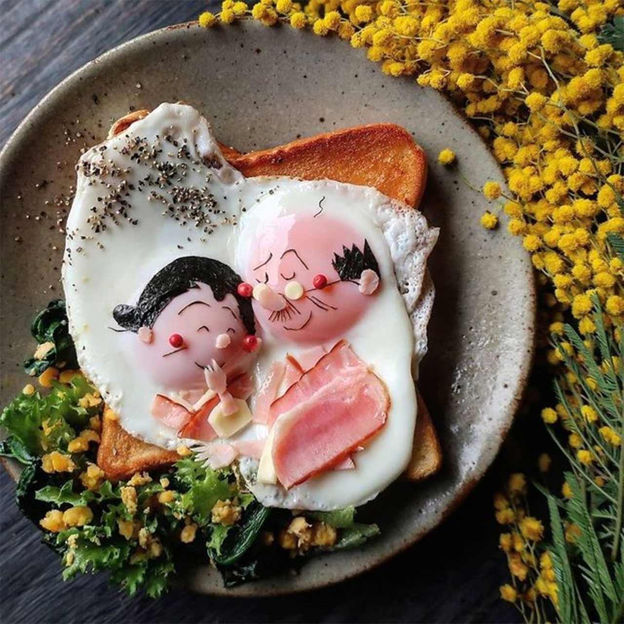 Kleine Lebensmittelkunstwerke von Etoni Mama Etoni-Mama-foodkunst_06