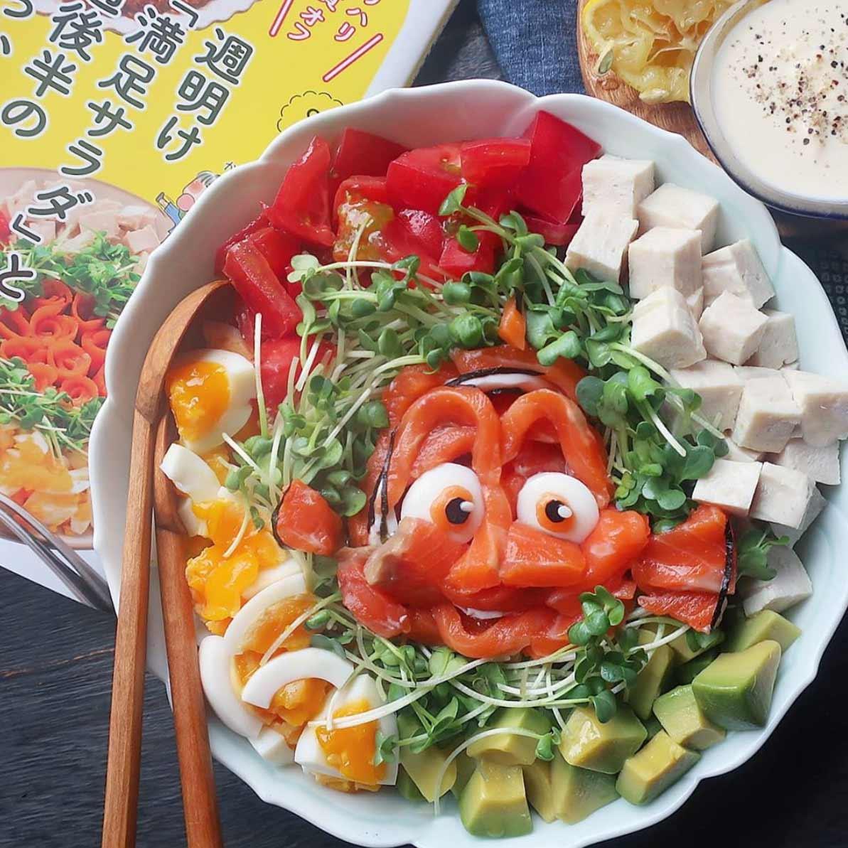 Kleine Lebensmittelkunstwerke von Etoni Mama Etoni-Mama-foodkunst_10