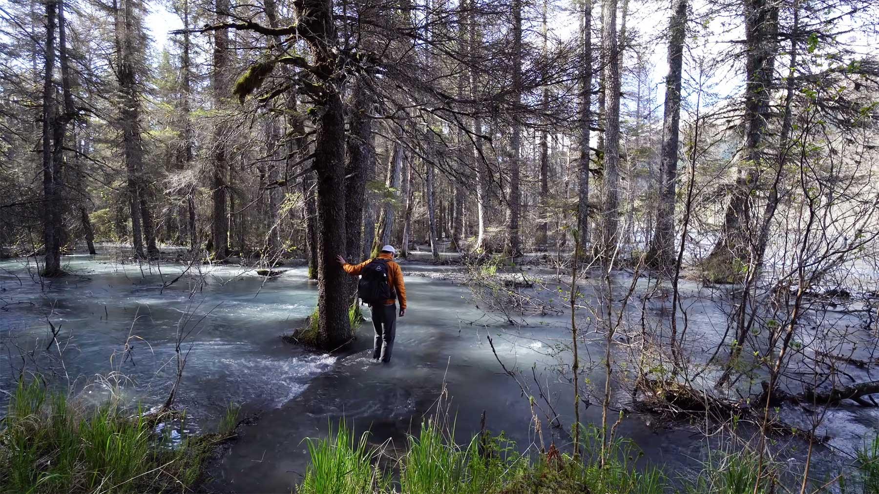 100 Meilen alleine durch Alaska wandern