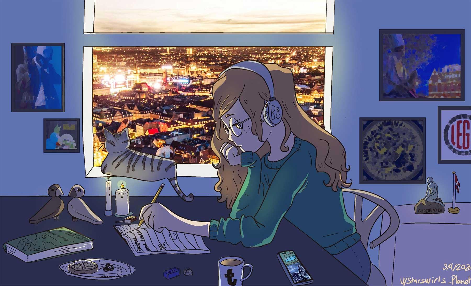 """""""Lo-Fi Study Girl"""" mit landesspezifischen Anpassungen Internationale-lo-fi-study-girl-adaptionen_06"""