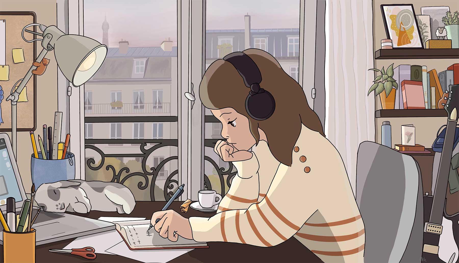 """""""Lo-Fi Study Girl"""" mit landesspezifischen Anpassungen Internationale-lo-fi-study-girl-adaptionen_07"""