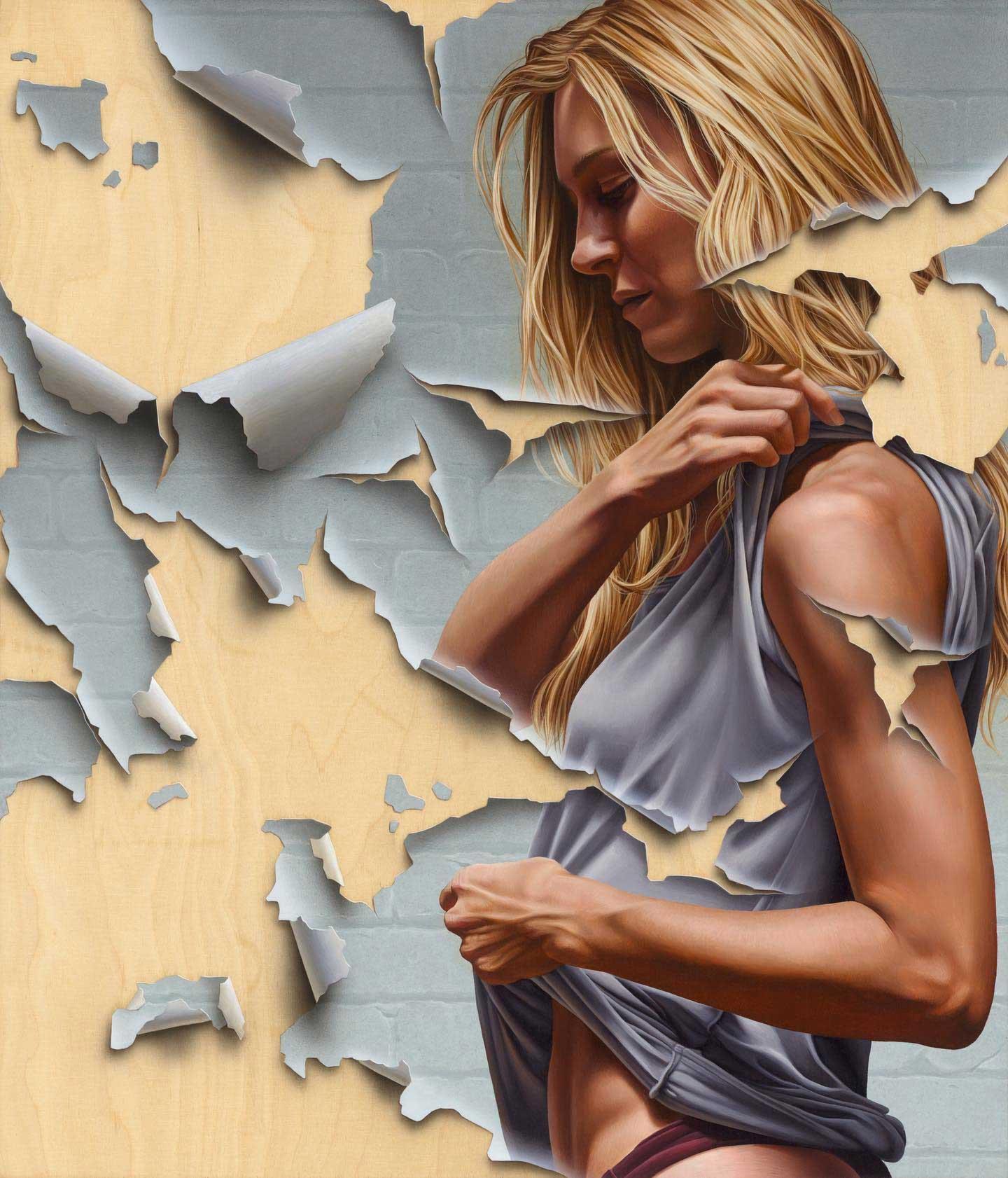 Abgeblätterte Gemälde von James Bullough James-Bullough-2020_02