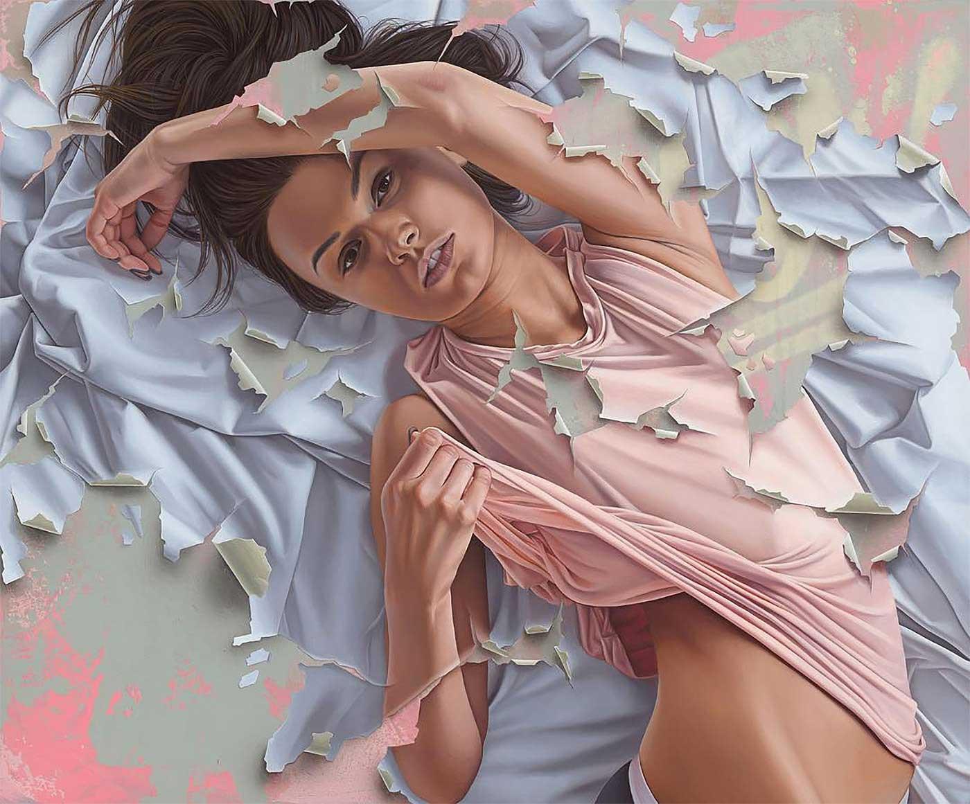 Abgeblätterte Gemälde von James Bullough James-Bullough-2020_06