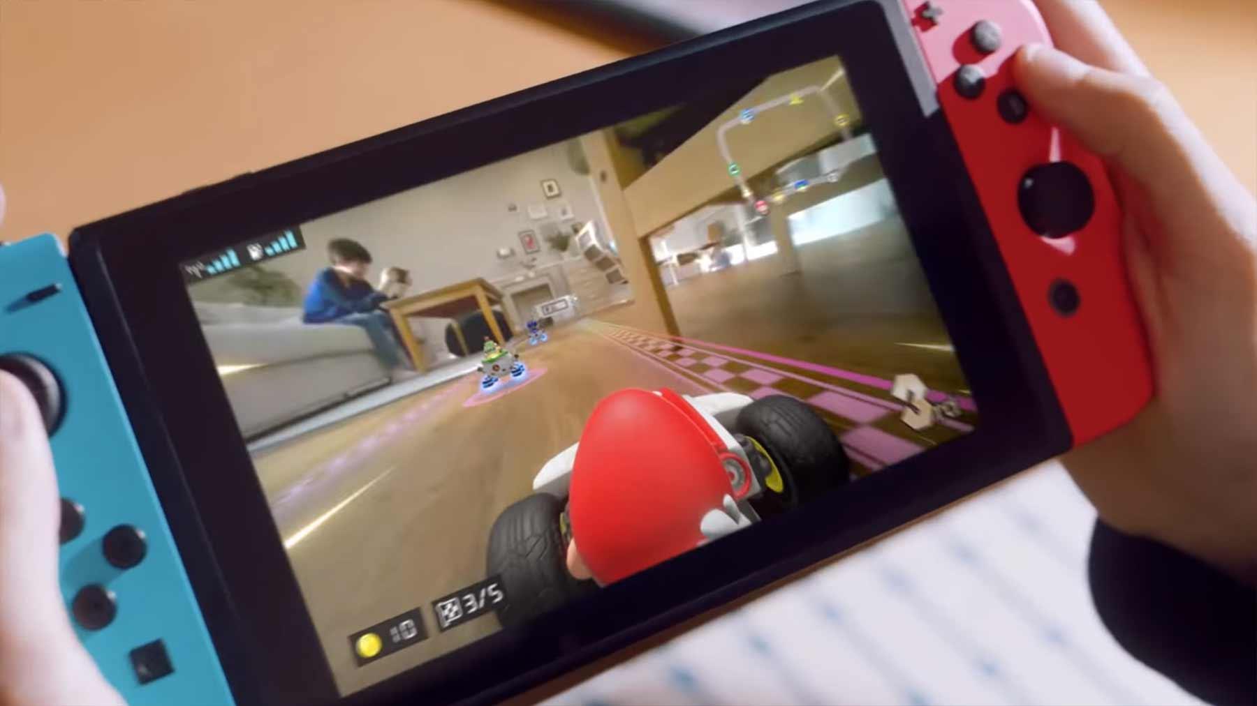 """Mario Kart Live: Home Circuit"" macht euer Zuhause zur Rennstrecke Mario-Kart-Live-Home-Circuit_Trailer"