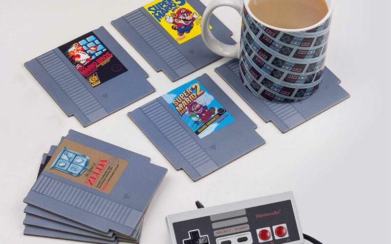 NES-Kartuschen-Untersetzer