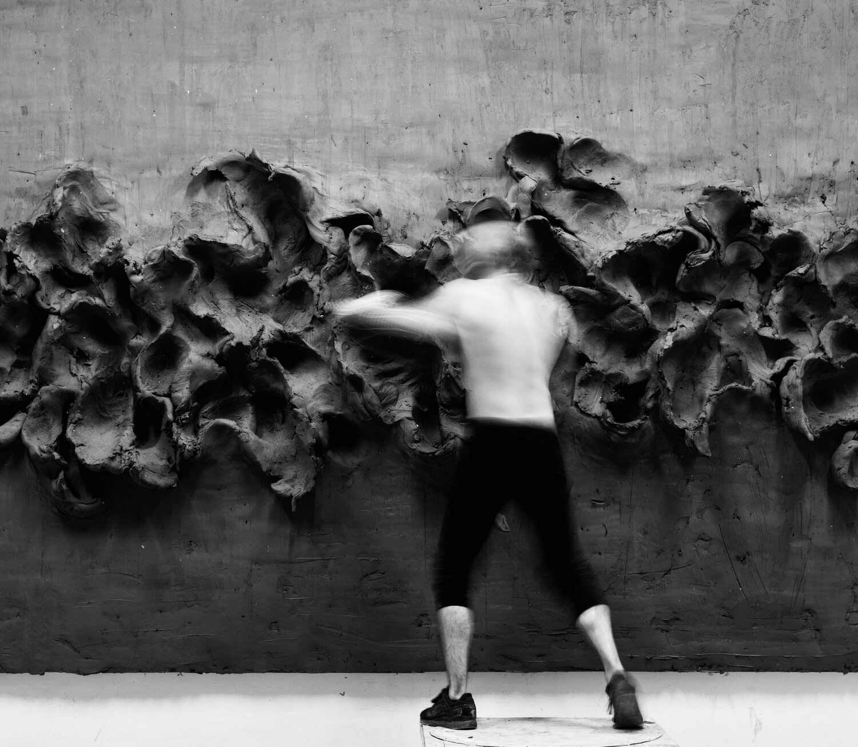 Szilard Gaspar, der boxender Künstler Szilard-Gaspar-boxing-art_02