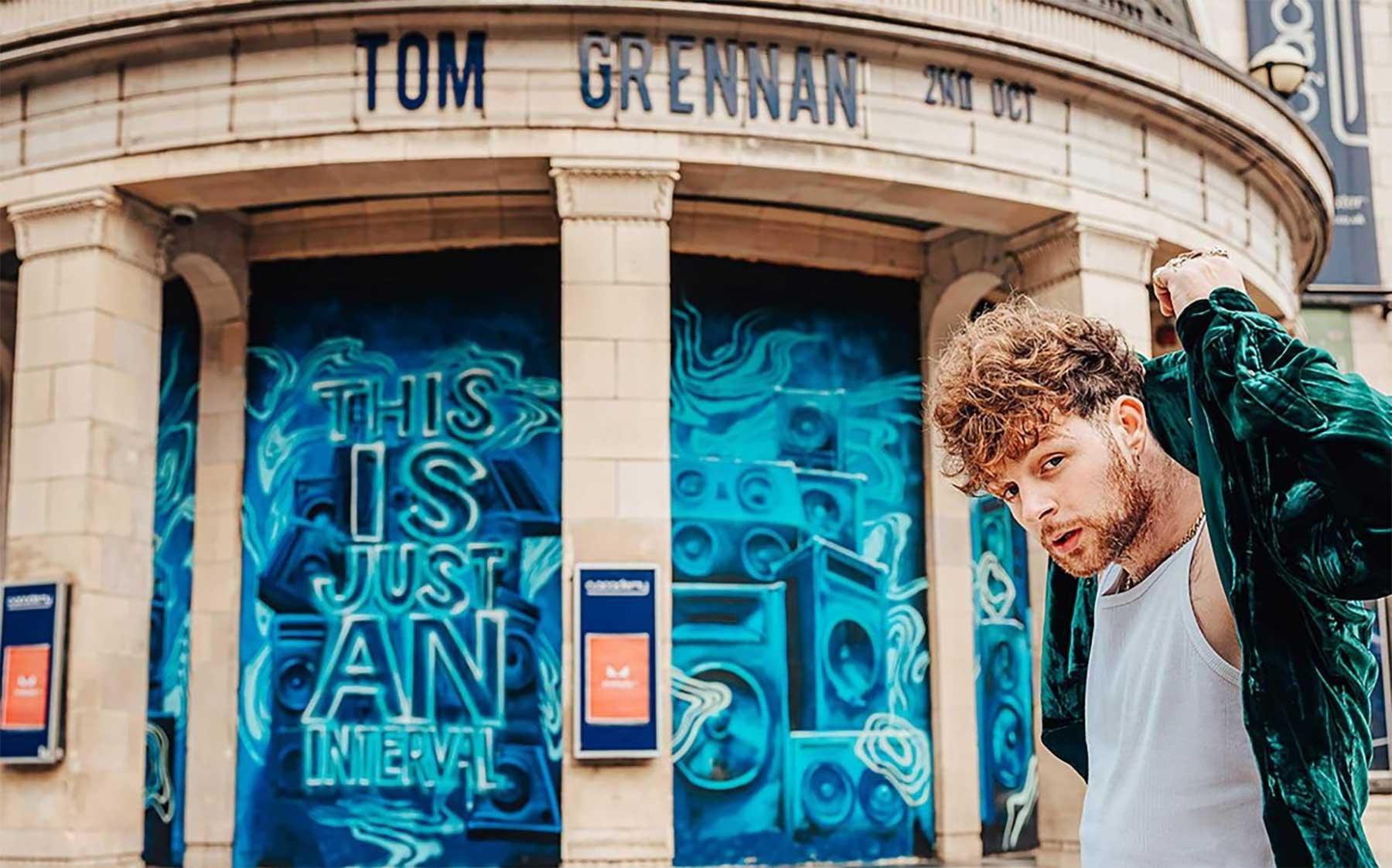 Gewinnspiel: 5x Online-Meet&Greet + Konzert mit Tom Grennan